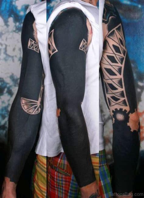 70 Traditional All Black Tattoos On Arm Black On Arm
