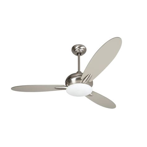stainless steel ceiling fan with light loris collection 52 quot stainless steel ceiling fan with