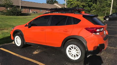 subaru crosstrek custom wheels 2018 crosstrek aftermarket wheel and tire fitment