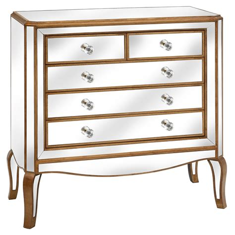 Mirrored Chest Of Drawers Uk by Venetian Mirrored Chest Of Drawers Crafted From Glass