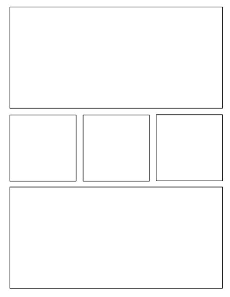 novel template for pages comic book layout template search stuff