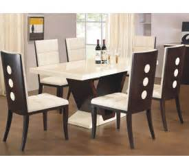 Dining Table And Chair Pictures Arta Marble Dining Table And Chairs