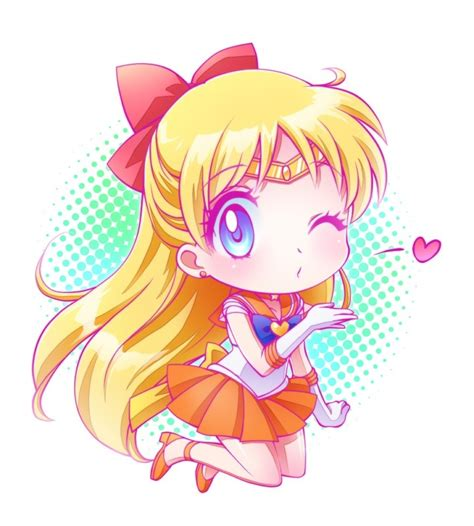 Kawaii Venus 17 best images about sailor venus mina on chibi pretty dresses and growing up