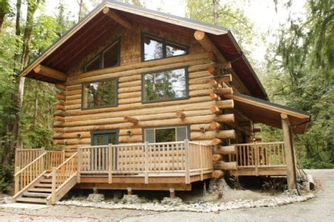 i want to build my own home log home building school