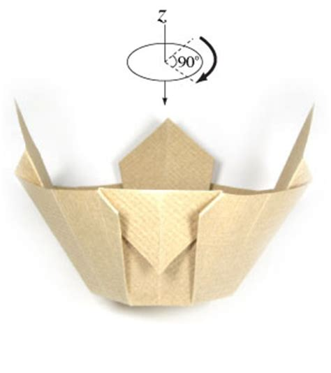 3d Origami Bowl - how to make a 3d origami bowl page 6