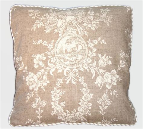 Waverly Pillow by Waverly Country House Toile Throw Pillow Linen By