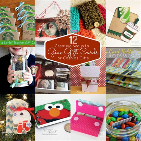 12 creative ways to give gift cards smart fun diy