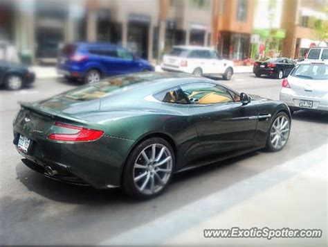 Aston Martin Canada by Aston Martin Vanquish Spotted In Montreal Canada On 06 13
