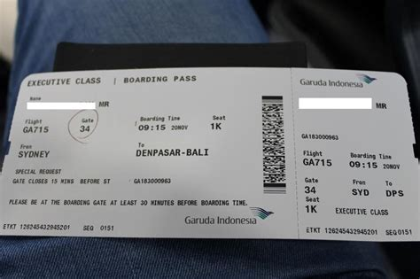tiket bussiness garuda to bali in style garuda executive class airliners net