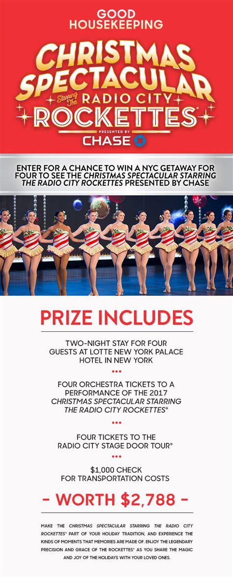 Nyc Sweepstakes - christmas spectacular starring the radio city rockettes the a guide to christmas