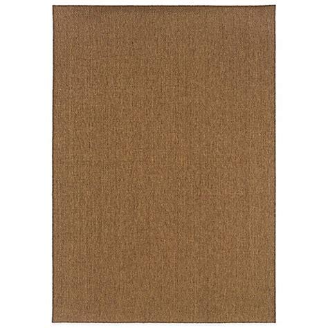 bed bath beyond outdoor rugs weavers santiago indoor outdoor rugs in brown bed bath beyond