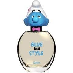 The Smurf Blue Style 3 D Vanity blue style vanity the smurfs 2013