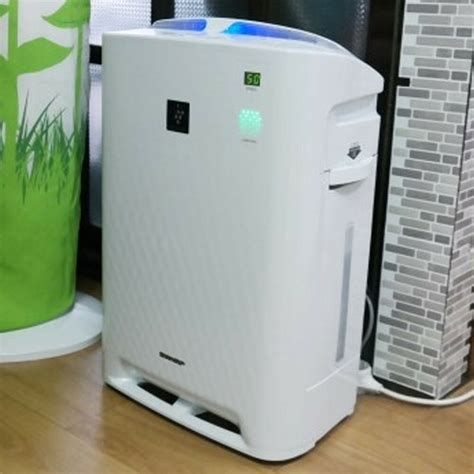sharp kc a60k w plasma cluster air purifier cleaner humidifier system for 47 ebay