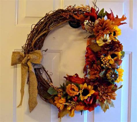 diy fall wreaths diy fall wreath arts crafts