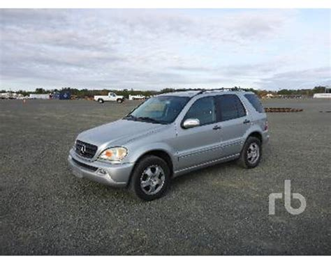 2004 mercedes suv 2004 mercedes ml350 suv for sale butner nc