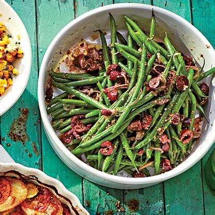 mediterranean green beans recipe myrecipes
