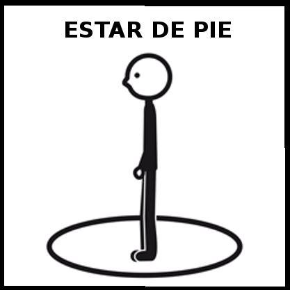 Imagenes Blanco Y Negro Para Estar | estar de pie educasaac