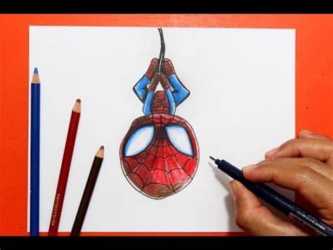 imagenes de spiderman para dibujar faciles como dibujar superh 233 roes