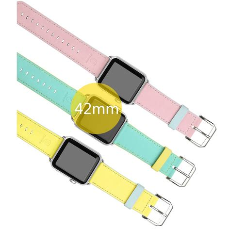 Apple Sport Band Only Yellow 42 Mm baseus macarons leather band for apple 42mm yellow jakartanotebook