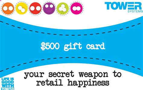 Gift Card System Software - retailers love pos software 500 gift card opportunity tower blog
