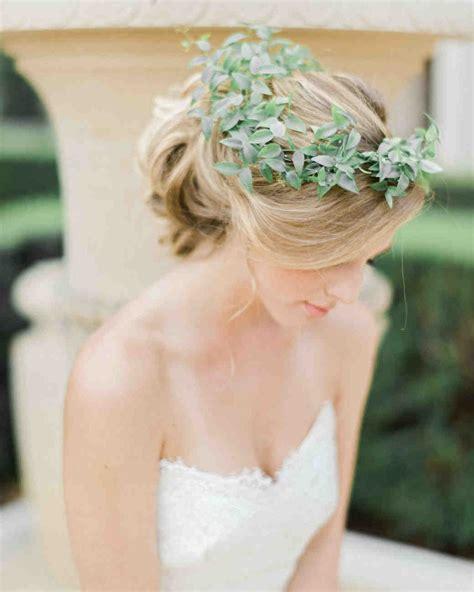 2014 martha stewart wedding hair crowns the new flower crown greenery crowns martha stewart