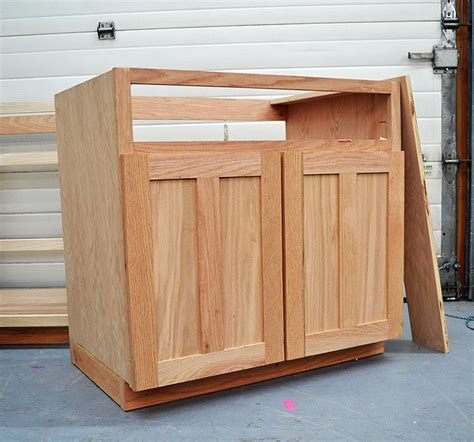 How To Build Kitchen Cabinet Drawers by How To Build Kitchen Cabinet Doors From Plywood Wooden