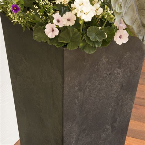 Ella Self Watering Planters by Ella Square Pot For Sale At Wayside Gardens