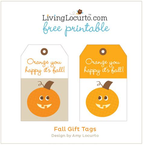printable labels for your fall food gifts by lia griffith fall gift ideas tags free printable