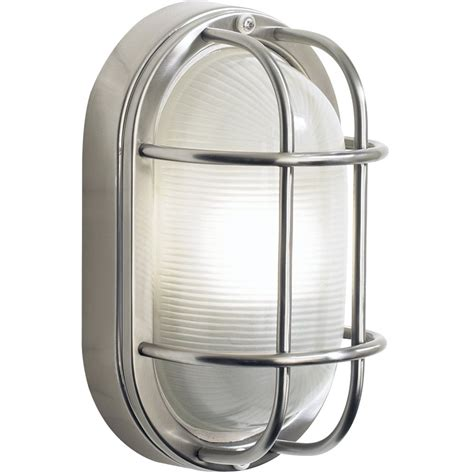Stainless Steel Outdoor Light Dar Lighting Salcombe Large Oval Stainless Steel Outdoor Wall Light Sal5244 Arrow Electrical
