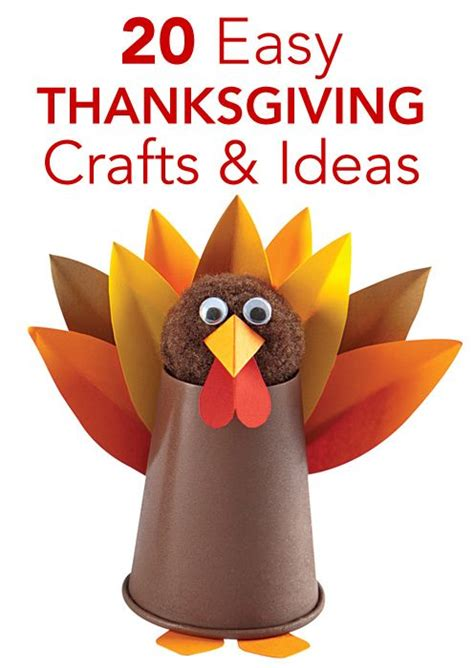 easy thanksgiving crafts for 20 easy thanksgiving crafts and activities for