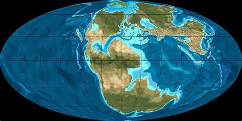 Calendar 7 Years Ago History Of The Earth October 7 Pangaea Comes Apart