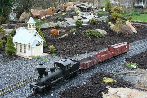 Garden Railroad by Garden Railroad W Water Feature From Martin S Greenhouse