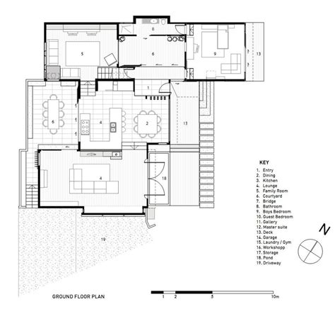 in house plans house with 3 glass gables faced with operable louvers