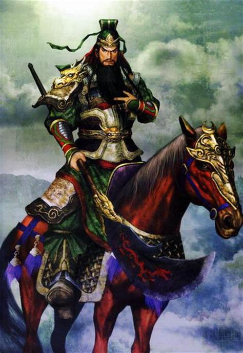 Kwan Kong Naik Kuda legend of sleeping righteous general guan yun chang guan gong