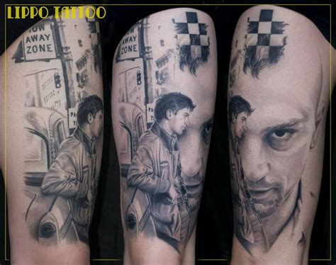 tattoo printer driver robert de niro taxi driver by ritratti at lippo tattoo in