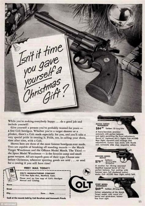 christmas gift advertisement gee a winchester vintage gun adverts from an era when a weapon for your child made the