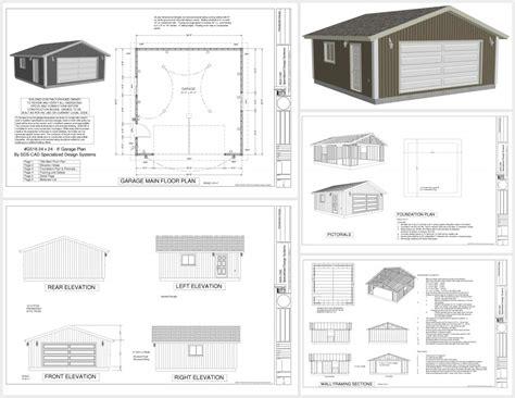 24 X 24 Garage Plans | 24x24 garage plans