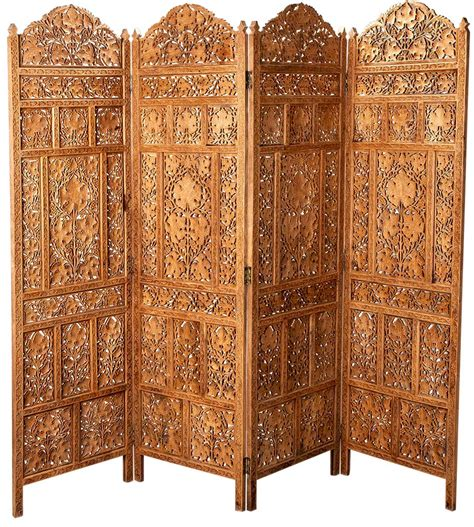 wood divider handcrafted wooden partition room divider aarsun woods