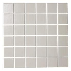 Shop American Olean Satinglo White Uniform Squares Mosaic