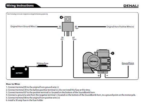 horn relay wiring motorcycle wiring diagram manual
