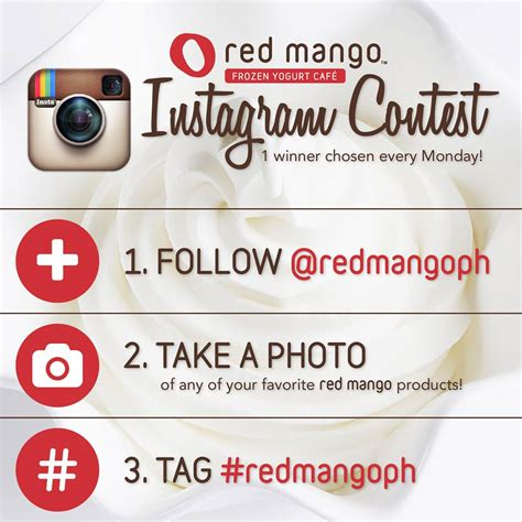 Instagram Comment Giveaway - red mango instagram contest philippine promos