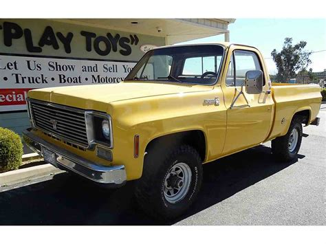 Chevy Cheyenne 10 by 1978 Chevrolet Cheyenne 10 4x4 For Sale Classiccars