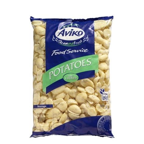Aviko Kentang 2 5kg potato distribution steam fresh half potatoes soft aviko uk