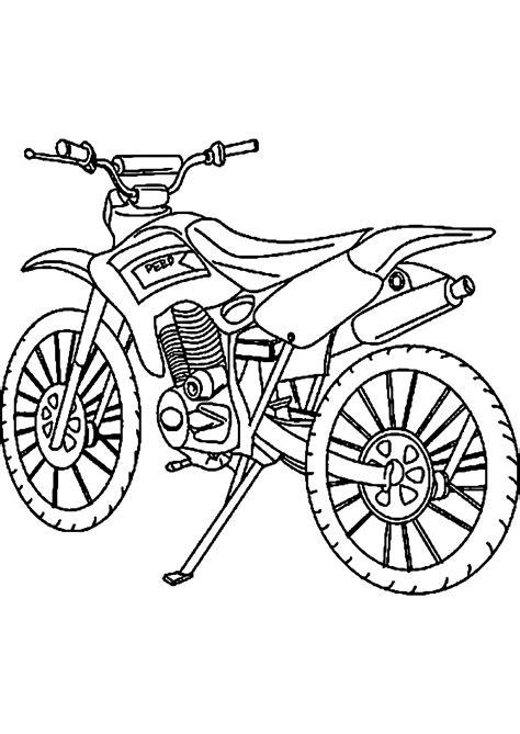 Ausmalbilder Motorrad by Malvorlagen Motorrad Cross Zum Drucken