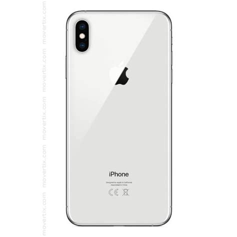 apple iphone xs max in argento da 256gb 0190198784537 movertix telefoni cellulari al miglior