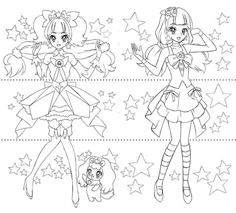 anime magical girl coloring pages 17 best images about precure on pinterest brooches
