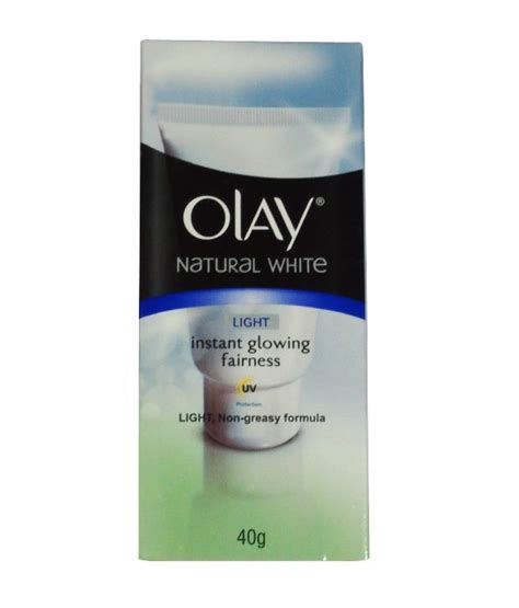Olay Instant Glowing Fairness olay white light instant glowing fairness 40 gm