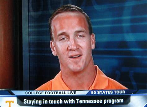 Peyton Manning Forehead Meme - we need more neck nfl