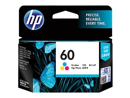 Tinta Cartridge Hp 60 Color Original Berkualitas hp 60 tri color ink cartridge it galeri