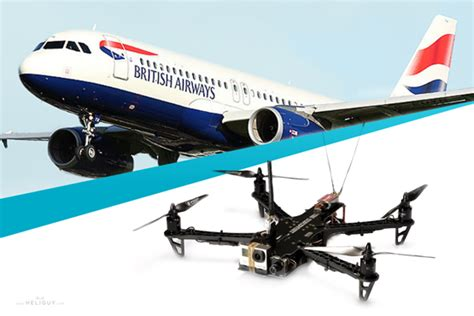 drone plane with news drone collides with plane at heathrow heliguy